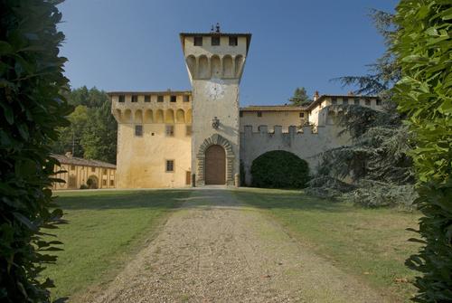 Toscana, Villa Medicea di Cafaggiolo 3